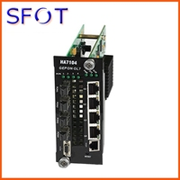 Four port EPON OLT Module Card