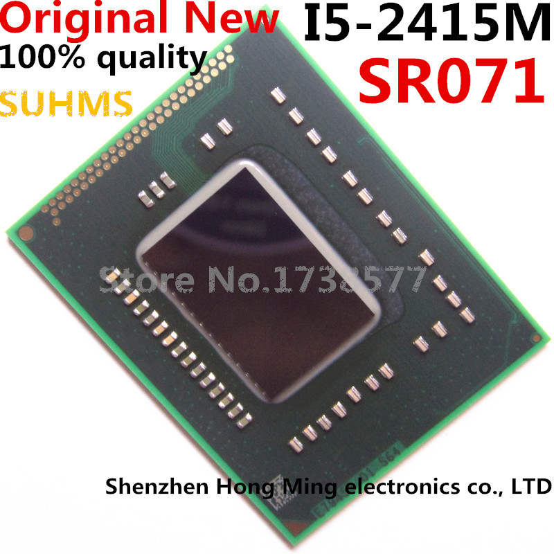 100% New I5-2415M SR071 I5 2415M BGA Chipset100% New I5-2415M SR071 I5 2415M BGA Chipset