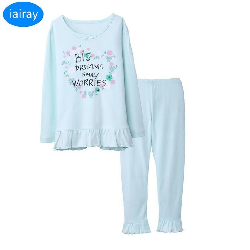 Two Piece Girls Christmas Vampire Pajamas Set Cotton Pjs Toddler Clothes Set Kids Night Sleepwear Pyjamas