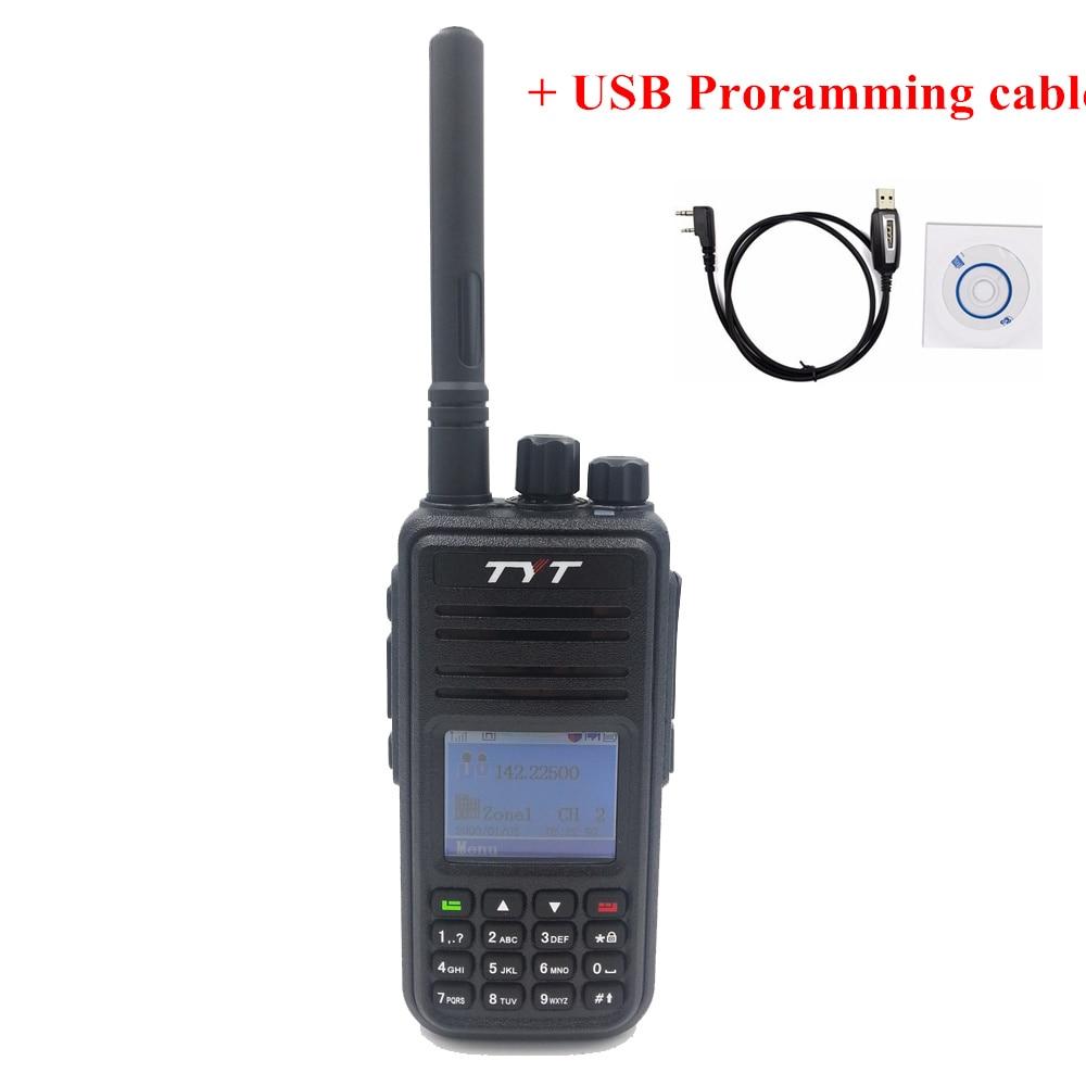 imágenes para Original DMR Digital Tytera (TYT) MD-380 Walkie Talkie 1000 Canales 136-174 MHZ MD380 mejor radio de dos vías radio TYT Mayorista Fábrica