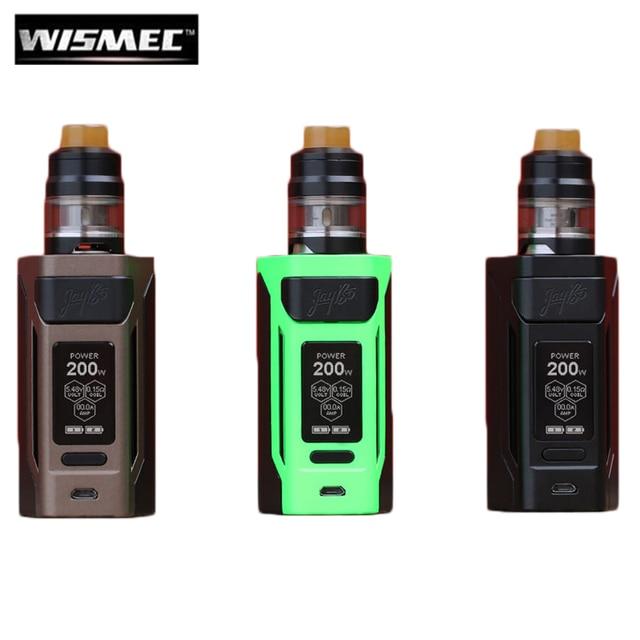 Оригинальный wismec reuleaux RX2 20700 200 W RX2 20700 коробка MOD Vape с 2 мл/4 мл гном Комплект Fit WM02 WM03 спиральная электронная сигарета