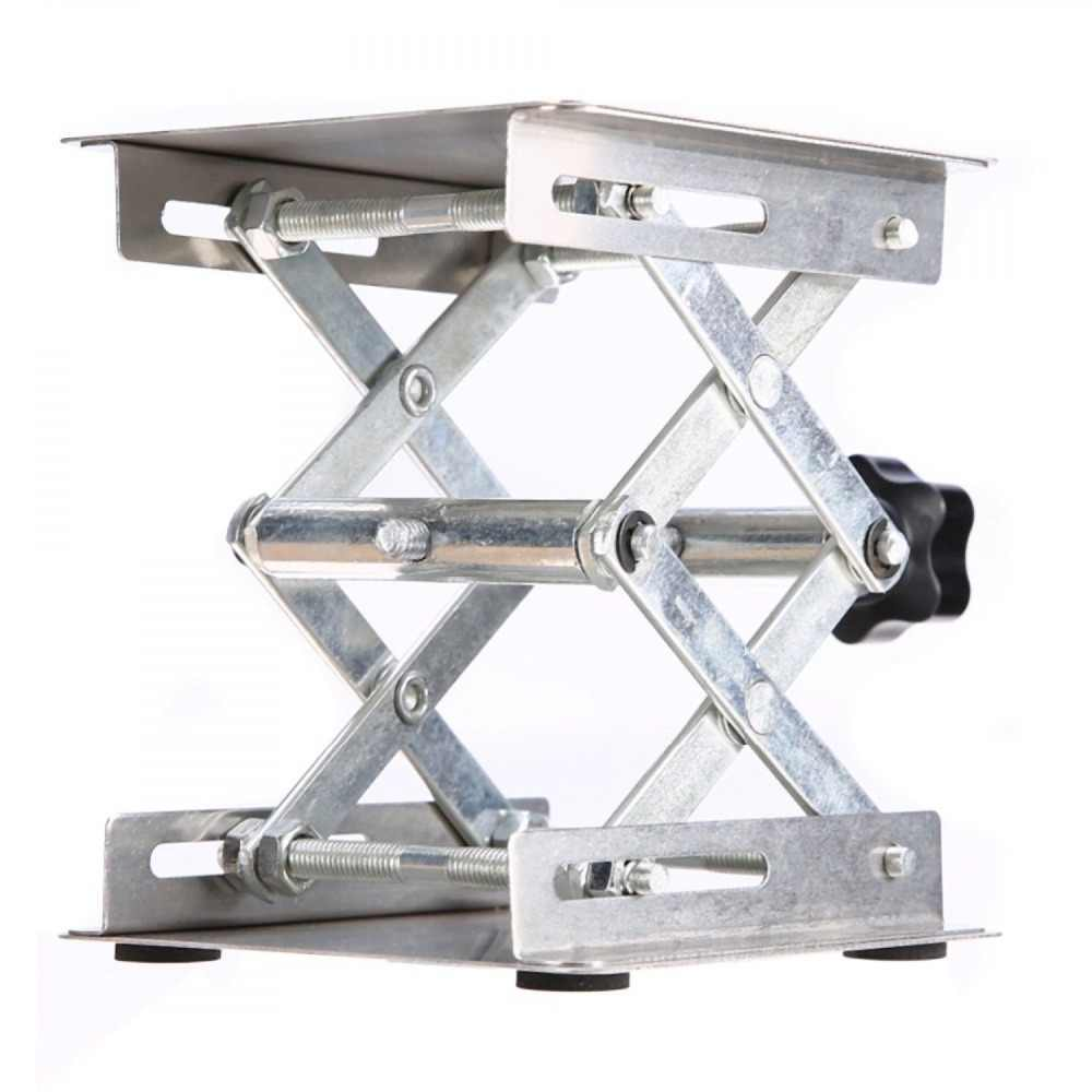 20 см * 20 см регулируемая лаборатории подъемная платформа Нержавеющаясталь лаборатории Scissor стойки