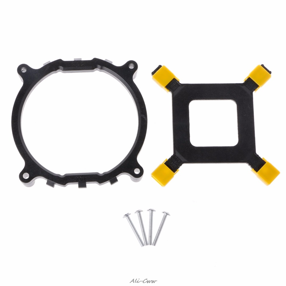 Desktop Computer CPU Heatsink Cooling Fan Mounting Bracket Holder Base Backplate Kit For Intel <font><b>2011</b></font> <font><b>Socket</b></font> CPU <font><b>Cooler</b></font> Fan image