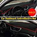 Cobre esteira do painel do carro para Dodge RAM 2002-2008 1500 2500 3500 movimentação da mão Esquerda dashmat pad tampa do traço auto dashboard