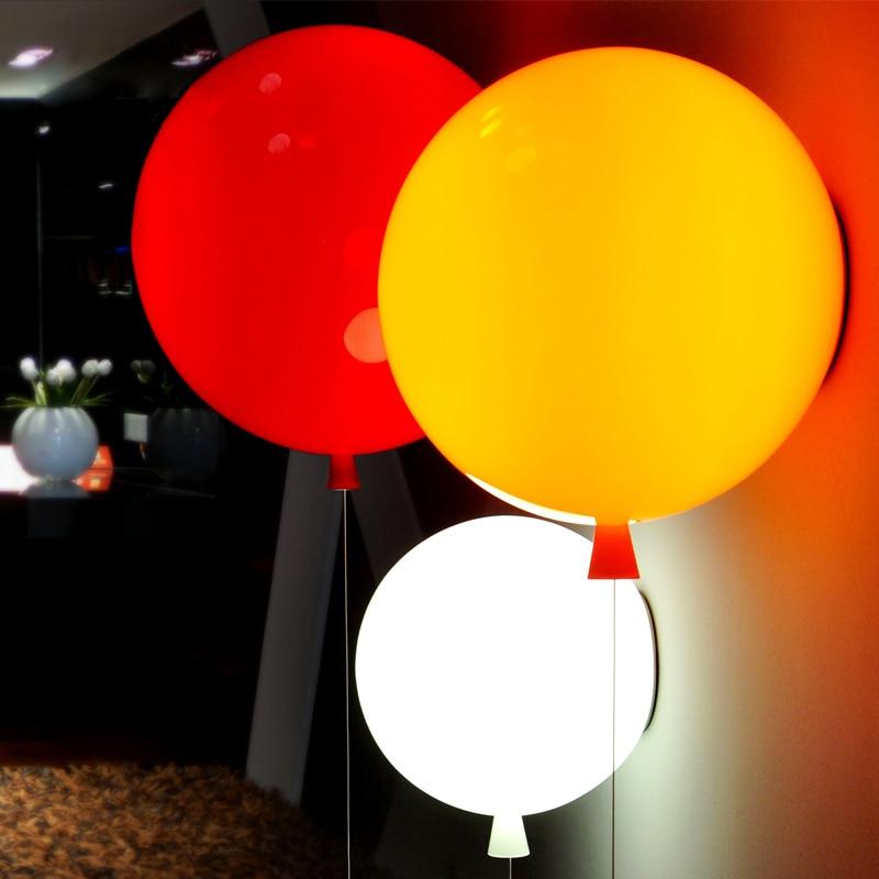 Svjetiljke za balone Djeca Zidne svjetiljke Povucite Prekidač - Unutarnja rasvjeta - Foto 5