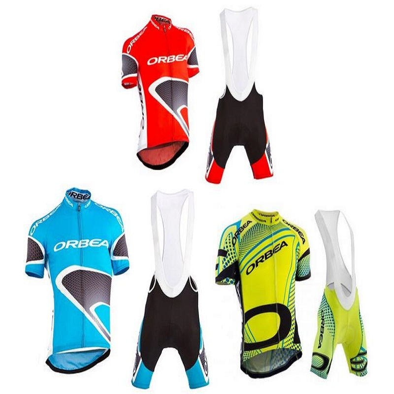 Stile New 2017 Orbea Cycling Team Kleidung Fahrrad Racing T Shirts Tops Fahrrad Jacke Radfahren Jersey Männer