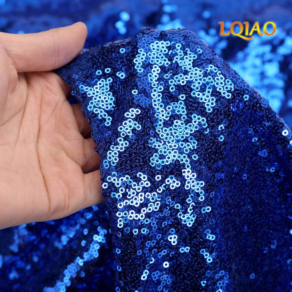 Royal Blue sequin backdrop-006