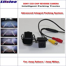 Liislee Rear Camera For Jeep Sahara / Jeep Willys 2013-2015 Intelligent Parking Tracks Reverse Dynamic Guidance Tragectory new carburetor for willys for jeep solex design civilian f head oem 923808