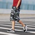 2016 New free shipping Men shorts board shorts camo cargo military camouflage shorts casual Large size shorts men