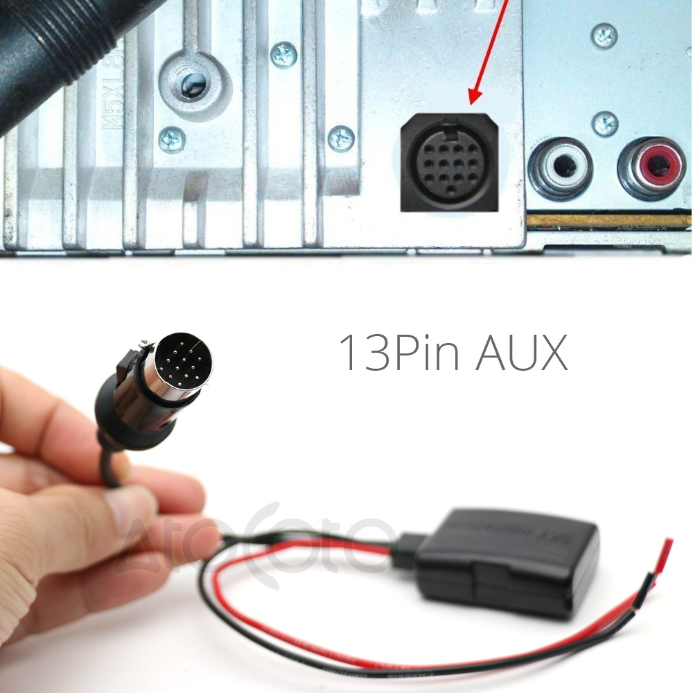small resolution of the bluetooth module is made for kenwood radio just plug the 13 pin connector into the socket back of your radio you can just insert this item to the