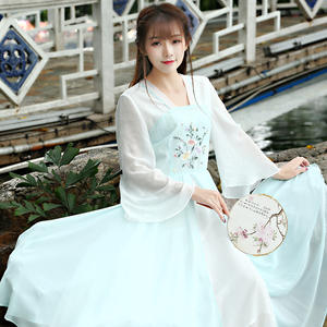 48dd9954dd30 COIGARSAM Summer Vintage Women Embroidery Long Dresses