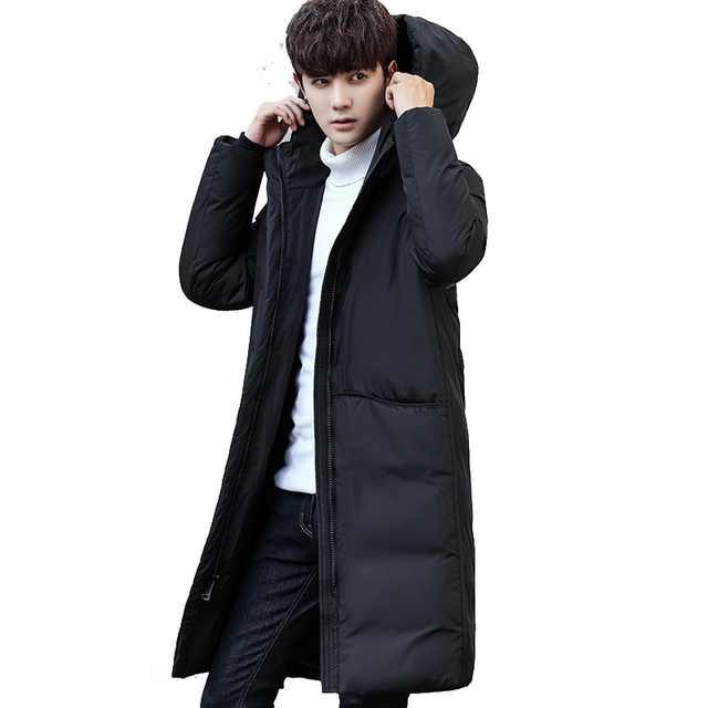 fb02b8d88b23 add new brand clothing jackets thick keep Wear outside long warm men down  jacket high quality hooded down winter coat Male