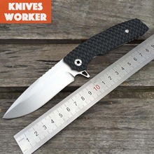 LDT Brand VENOM Tactical Folding Blade Knife G10 Handle D2 Blade Ball Bearing Camping Hunting Survival Knife Outdoor EDC Tools