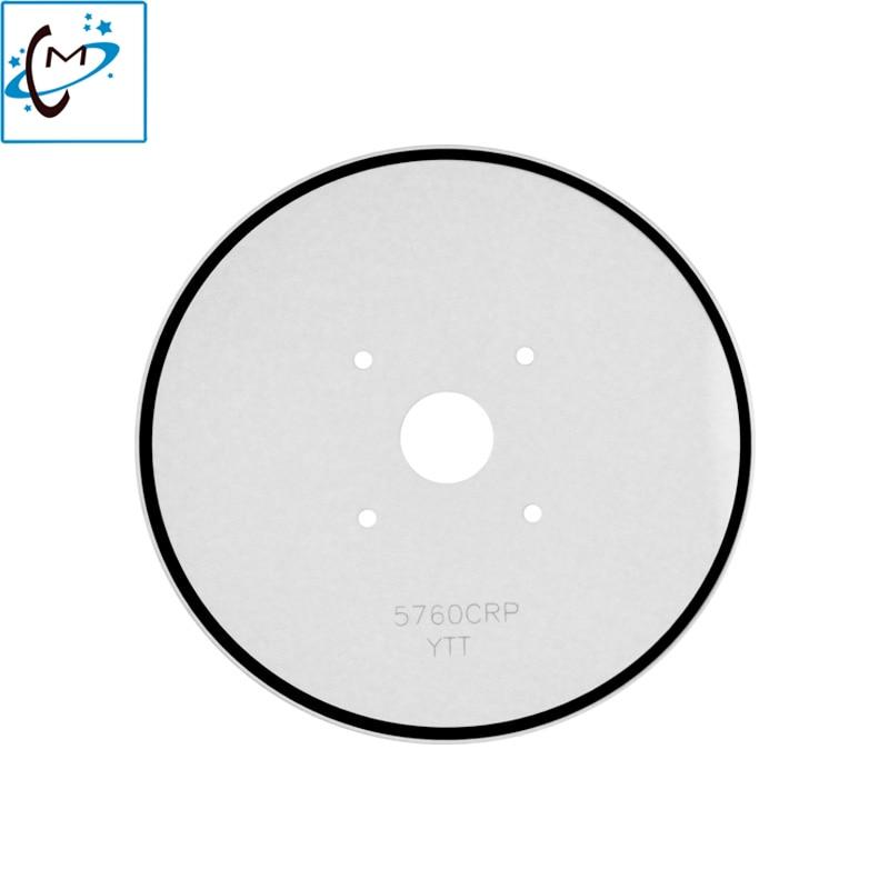 все цены на Hot sale !!! Outdoor piezo photo printer disk encoder sensor Mutoh RJ-901C RJ-900C media sensor plate 5760 CRP 2pcs онлайн