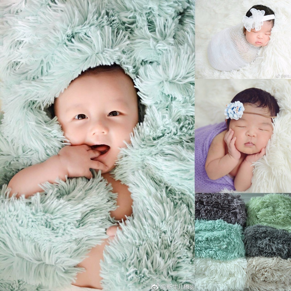 Newborn Baby Photography Photo Shoot Props cotton linen wrapping towel las