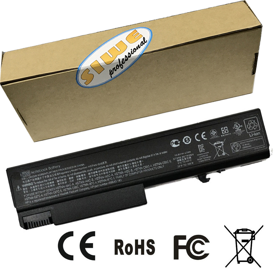 47Wh batterie d'origine pour HP ProBook 6550b ProBook 6555b Hp Compaq ordinateur portable d'affaires 6530b 6535B 6730B 6735B livraison gratuite