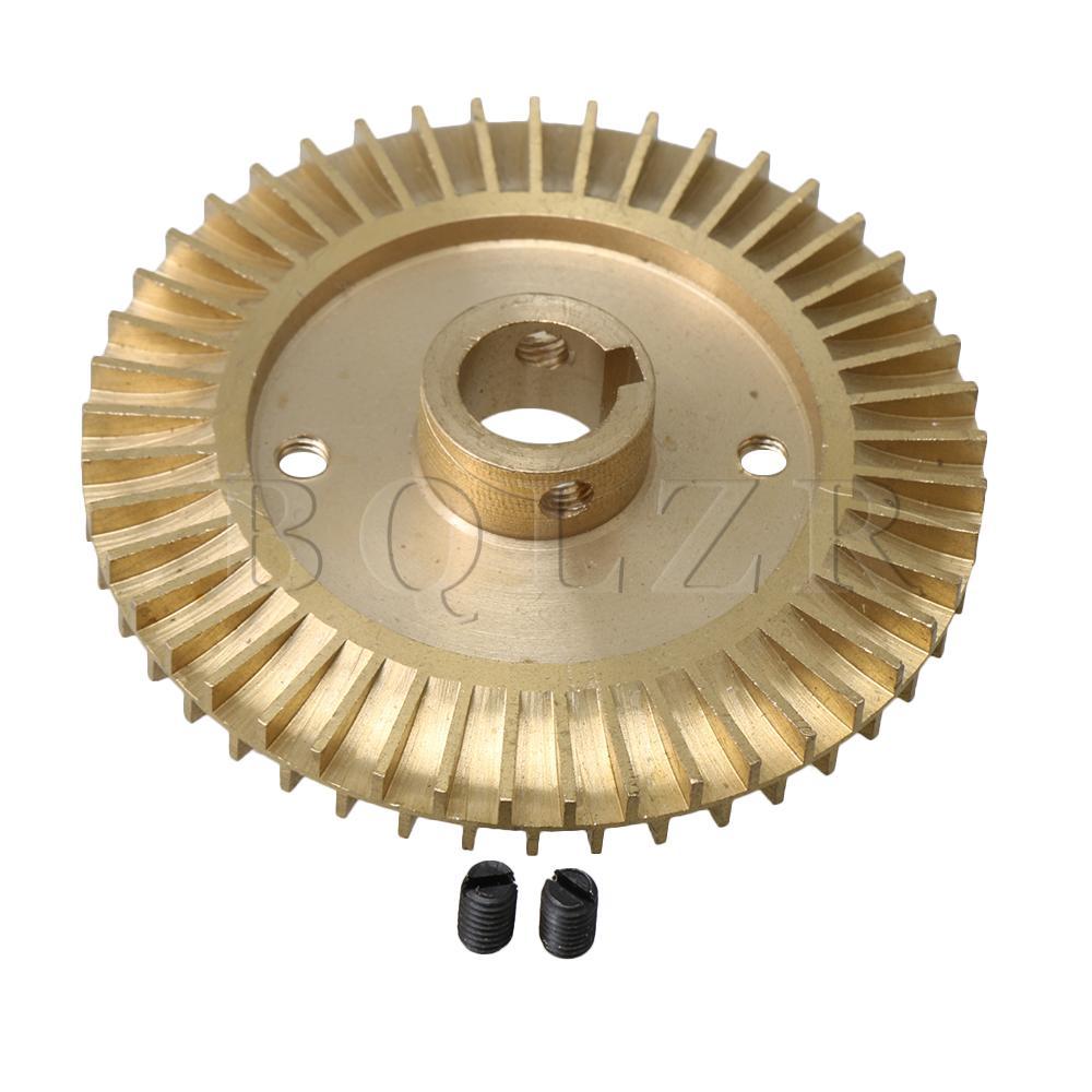Angemessen Bqlzr Wasserpumpe Ersatzteil 80mm Dia 14mm Welle Loch Doppelseitige Nut Laufrad Zu Den Ersten äHnlichen Produkten ZäHlen Home