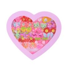 20 шт Полимерная глина части Мода Ассорти серьги-гвоздики набор ручной работы животные scartoon серьги для девочек детей