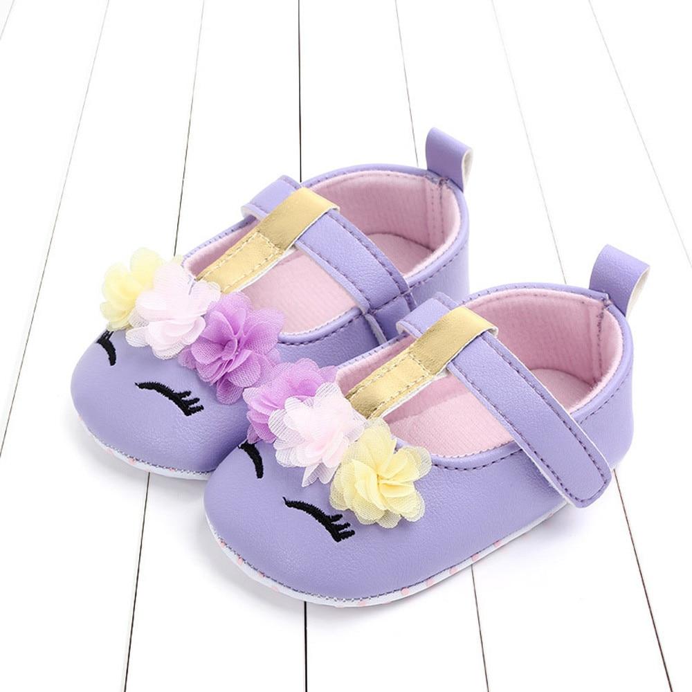 TELOTUNY Chaussure Shoes First-Walker Floral Newborn Infant Girls Cartoon Casual Z0430
