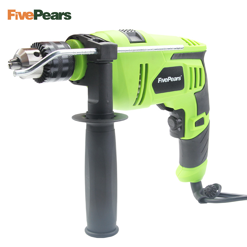 FivePears 220V 2300rpm Variable Speed Adjustable Industrial Electric Impact Drill Electric Hammer Woodworking Power Tool urijk 1set best quality multifunctional electric drill impact drill household electric woodworking hardware hand tool sets