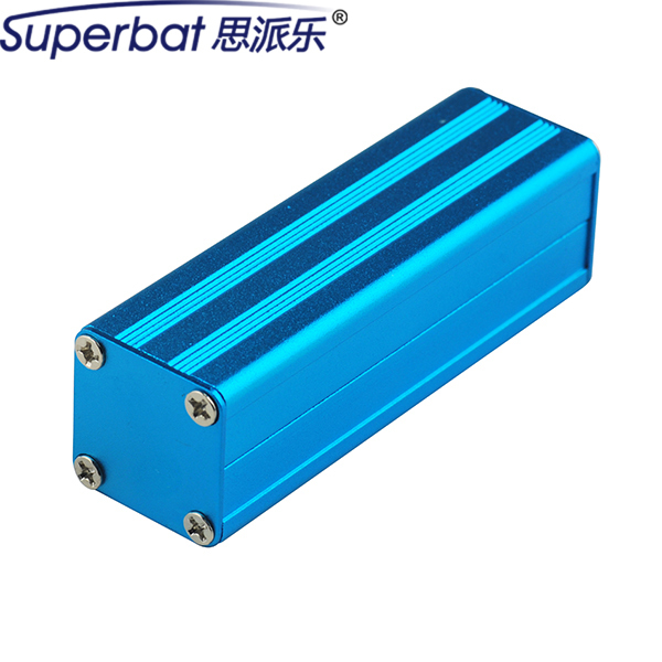 80*24.5*24mm Blue Aluminum Enclosure Junction Box Case DIY For Electronic Project Power Supply Unit Amplifier 3.15″*0.96″*0.94″
