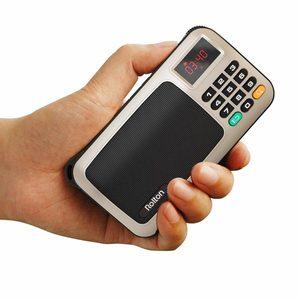 Image 4 - Rolton W405 Portable FM Radio USB filaire ordinateur haut parleur HiFi récepteur LED Support daffichage TF jouer avec lampe de poche argent vérifier