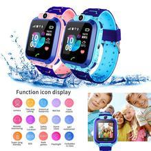 Kid Watch Children Smart Insert SIM Card Waterproof Remote Positioning GPS Locator Camera Call Anti-lost Wristband