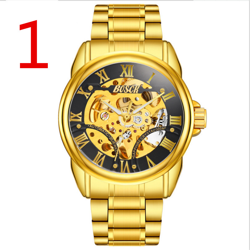 In 2018, the newly launched gold quartz luxury brand senior military watch and 22 mm stainless steel logistics male watch. newly launched german talking watch for blind or low vison people with alarm for the elderly speaking quartz