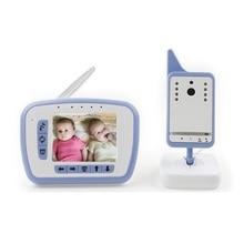 3.5 дюймов LCD видео радионяня фетальный ИК Ночного Видения 2 способ Обсуждение Колыбельные Температуры Монитор младенца интерком аудио baby монитор