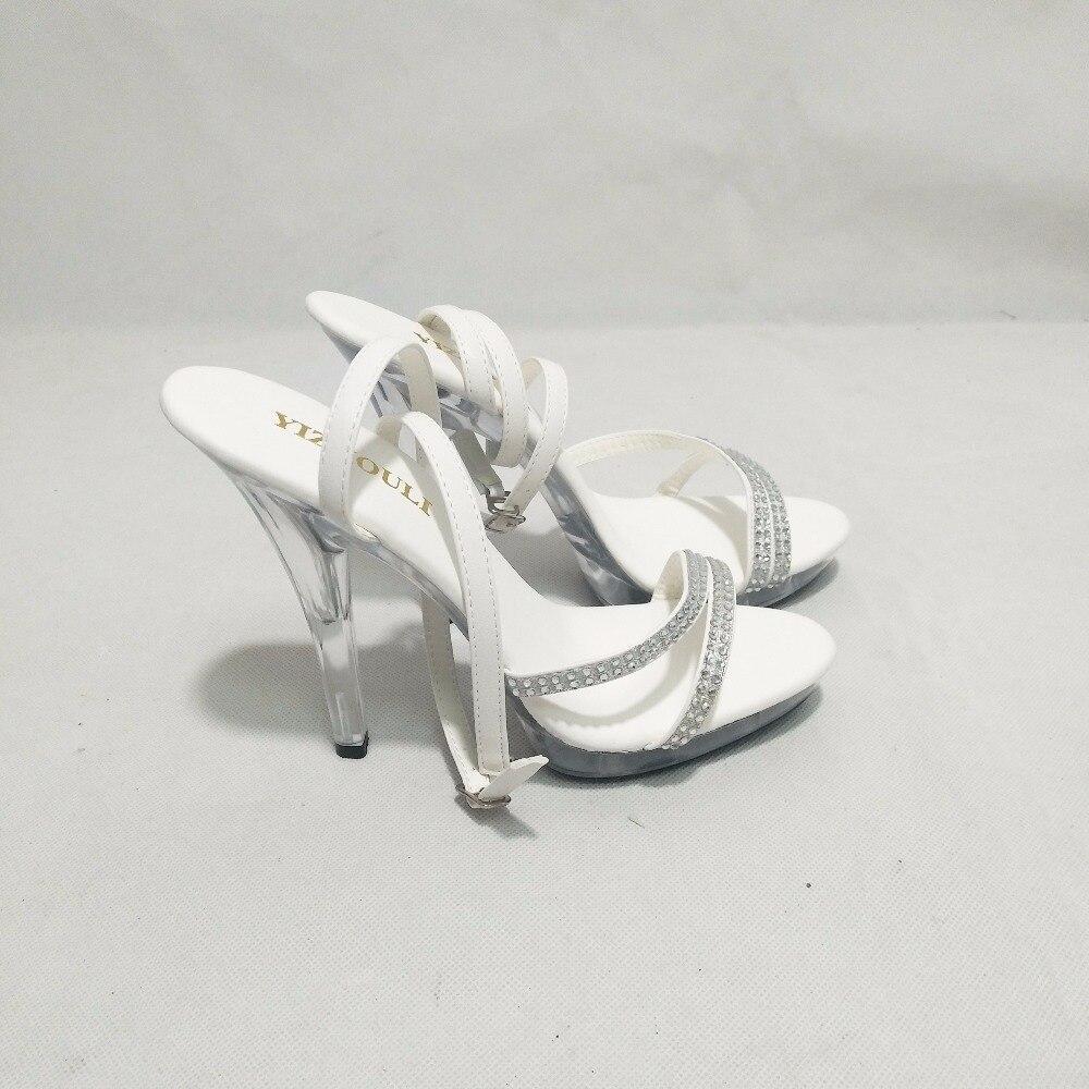 13cm bohemia high heels sandals tassel Platform Sandal with Rhinestone  Straps 5 inch punk open toe heels-in High Heels from Shoes on  Aliexpress.com ... 1dc9eb5bd9d3