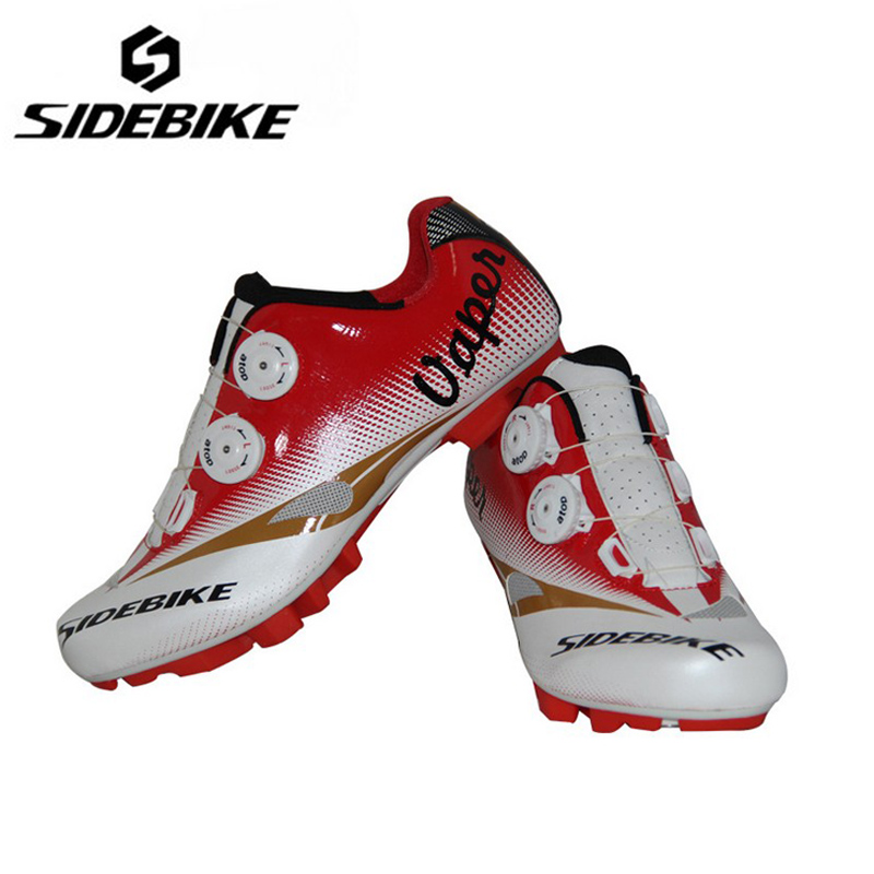 SIDEBIKE Pro Cycling Shoes Fast Tuning Knob Lacing Racing Sneakers Self-locking Bicycle Shoes sapatilha ciclismo mtb Eu:35-46 sidebike high quality men cycling shoes self locking road bike shoes s2 snap knob bicycle shoes ultralight sapatos de ciclismo