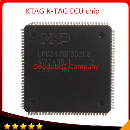Frete grátis Melhor preço chip KTAG Programação ECU K-TAG Ferramenta do Reparo do carro do carro Do Carro Chip com 500 Tokens