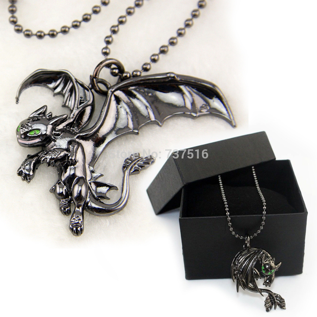 How To Train Your Dragon 2 Toothless Night Fury Movies Animal Metal Products Set of 2 Hot sell New Collections