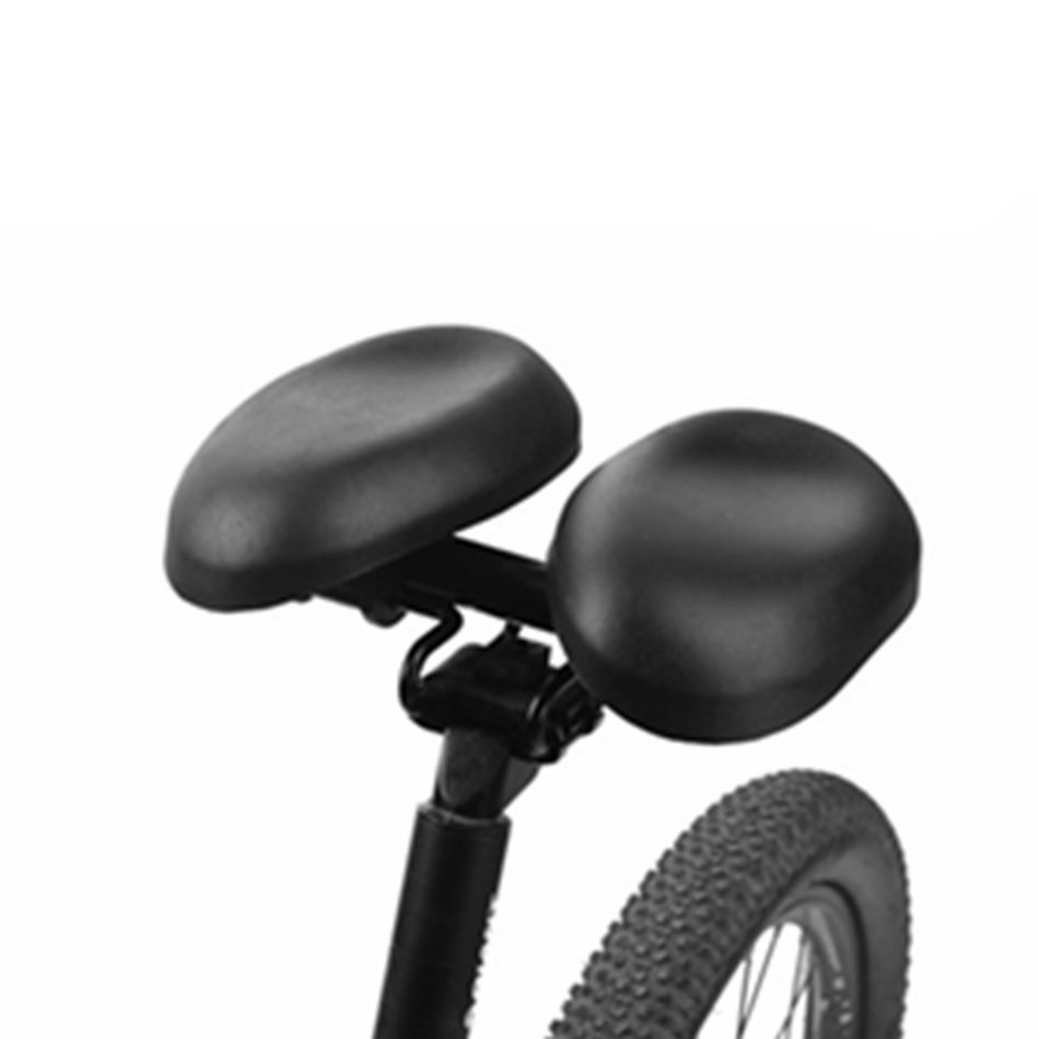 VXM Bicycle Saddle Wide Large Separate Bike Cycling Saddle Black Cycling Large Seat Cushion For road Comfortable Long Riding