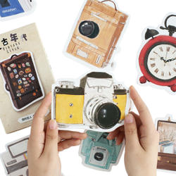 30 шт./упак. нерегулярные ретро объекты бумаги набор карт открытка для приветствие закладки для чтения канцелярские