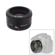 YONGNUO YN50mm F1.8 YN EF 50 мм f/1.8 AF/MF линзы большой апертурой Автофокус для Canon EOS Зеркальные фотокамеры