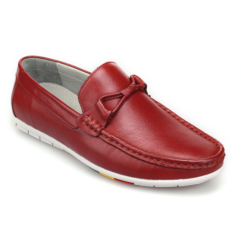 2017 new Spring and summer  Men Shoes flat Genuine Leather  Men Casual Shoes  Loafers Moccasins Man Flats  Cowhide Driving Shoe men s summer slip on casual moccasins genuine the penny loafers breathable shoe boat driving shoes in leather flat shoes for men