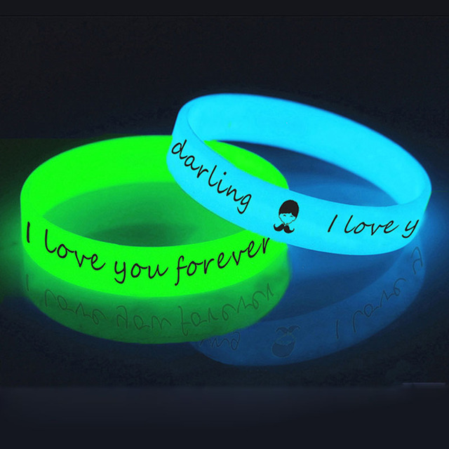 Luminous Silicone Wristband