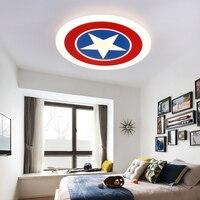 YooE стильная потолочная лампа для детская спальня Studyroom деко поверхностного монтажа скрытая панель удаленного Управление светодиодные свет