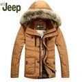 Listagem do novo Homem dos homens para baixo casaco de inverno 2016 venda Quente grosso inverno pato quente para baixo parka casaco Quente Ocasional dos homens casaco de inverno 150
