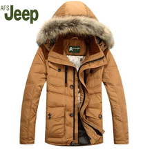 Neues angebot winter männer daunenmantel 2016 Heißer verkauf Mann dicken warm ente winter daunenjacke parka Casual Warmen wintermantel männer 150