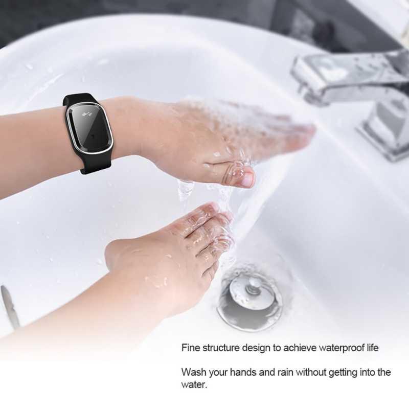 Комаров Репеллент Браслет для детей Электронный звук волна анти-комаров водонепроницаемый Smartwatch для младенцев/беременных женщин