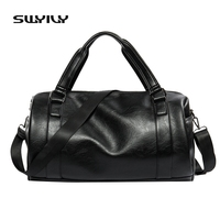 2017 New 20 25 Litre Top PU Leather Men's Sports Bags Gym Bags Classic Sports HandBag Fitness Travel Bags Workout Shoulder Bag