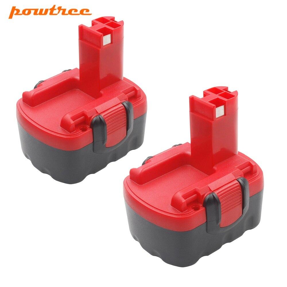 Batterie pour Bosch 14,4v 2000 MAH NI-MH GSR 14.4//GWS 14.4//GDR 14.4v//GHO 14.4v