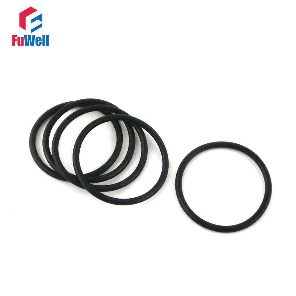 5mm Section 125mm Bore NITRILE 70 Rubber O-Rings