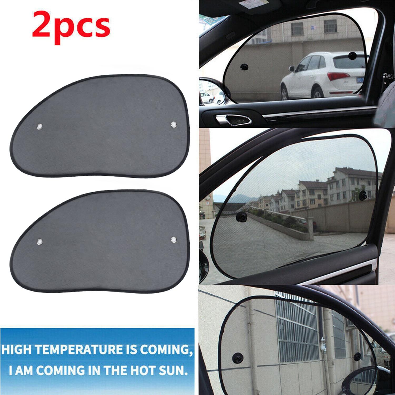 Universal Car Rear Window Sun Shade Blind Mesh Cover Screen Kid Child Protect