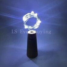 2M20LED lamp Cork Shaped Bottle Stopper Light Glass Wine Colorful LED String Lights For Bar Xmas Party Wedding Home Decoration