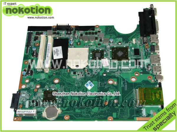 509451-001 laptop motherboard for HP DV6 DV6-1000Z Motherboard Graphics DDR2 Mainboard full Tested