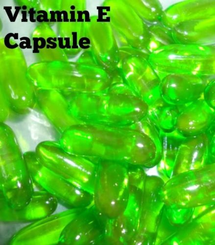 Vitamin E 400 Mg Capsules For Face Hair Acne Nails NEW EVION 50 Caps FREE SHIP
