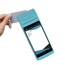 Bluetooth/ Wifi/ GPS Android Smartphone PDA RFID Handheld Chip IC Card Reader, Barcode Scanner And Printer with Camera uv ink printed barcode card and plastic member key card 3 part supply